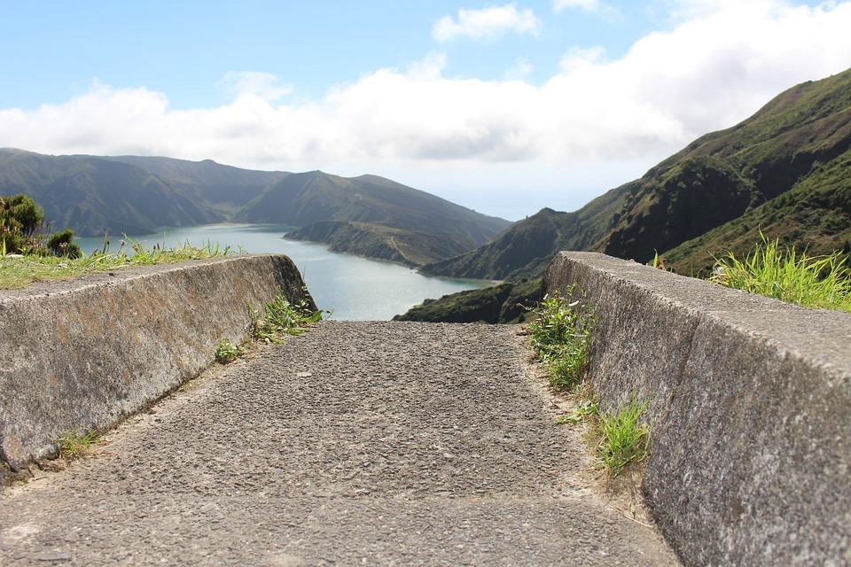 Nature, Landscape, Trip, Sky, Mountain, Summer, Rock