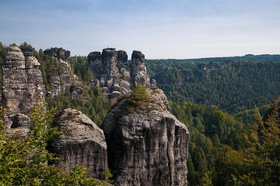 Elbe Sandstone Mountains, Saxon Switzerland, Rock Stage