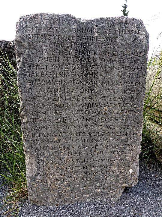 Hieroglyph, Stone, Monument, Historic, Rock, Landmark