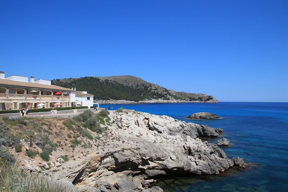 Mallorca, Coast, Sea, Rock, Summer, Balearic Islands