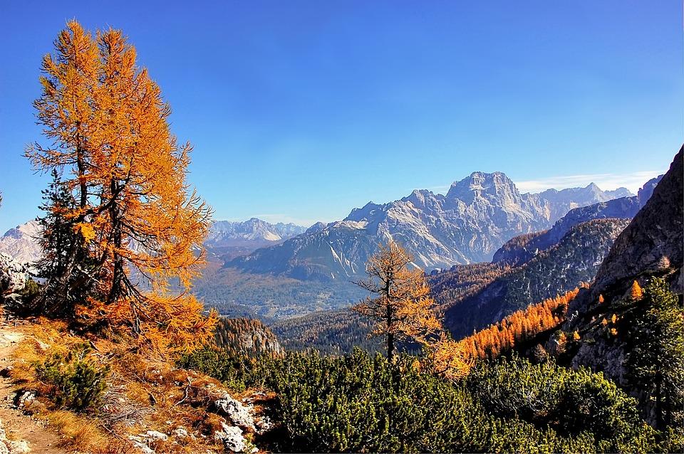 Sorapis, Dolomites, Alm, Nature, Summer, Rock, Sky