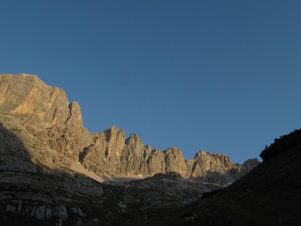 Dolomites, Summer, Sun, Mountain, Rock