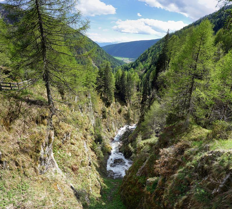 Canyon, Gorge, Water, River, Rock, Nature, Deep, Bach