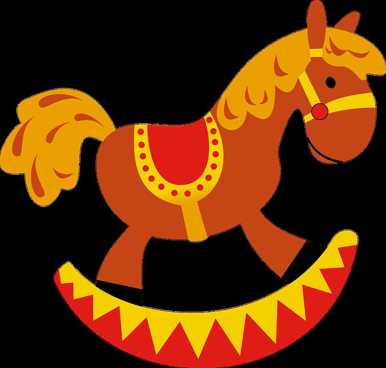 Rocker, Rocking Horse, Horse, Toy, Childhood, Children
