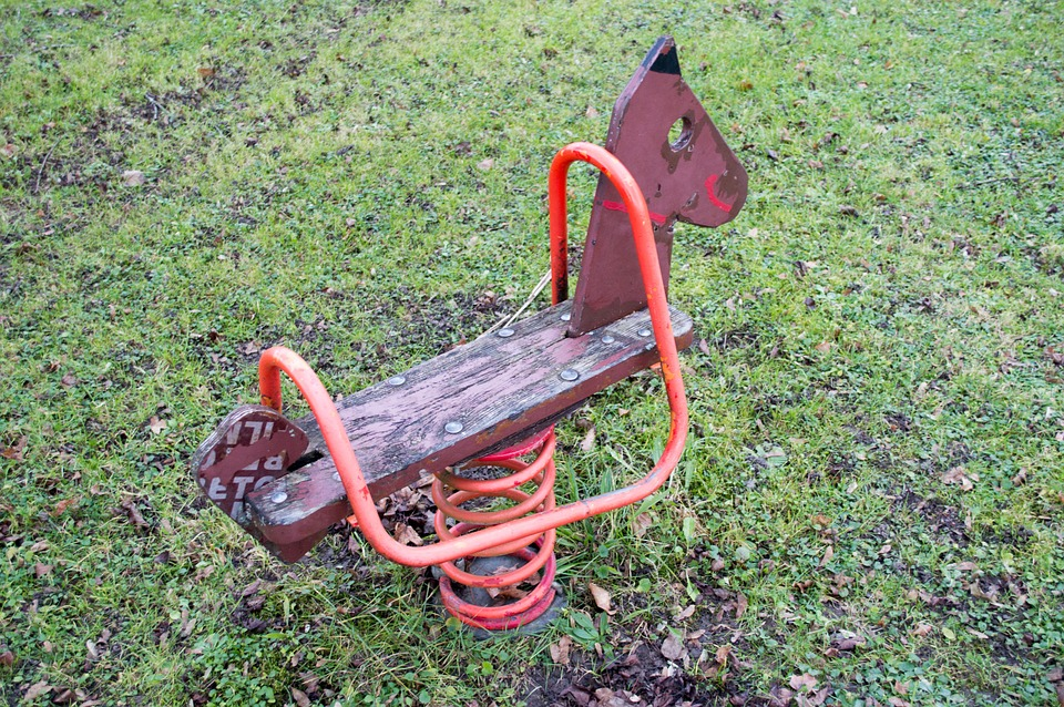 Rocking Horse, Playground, Rocking Rocking Horse