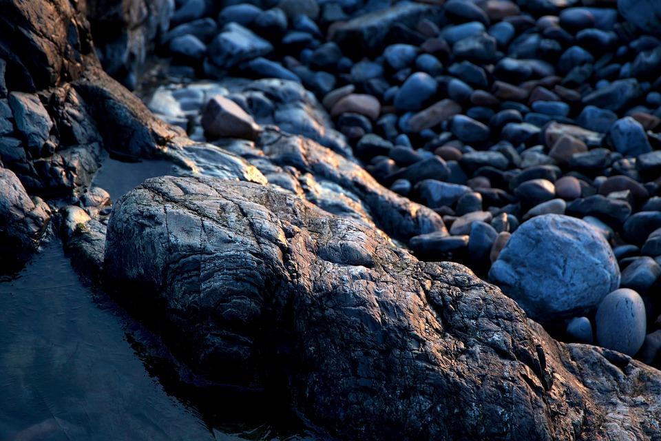 Beach, Nature, Ocean, Rocks