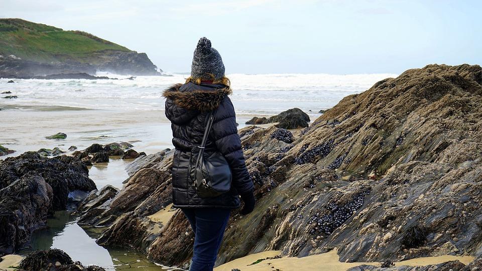 Rocks, Ocean, Sea, Nature, Landscape, Water, Beach, Sky
