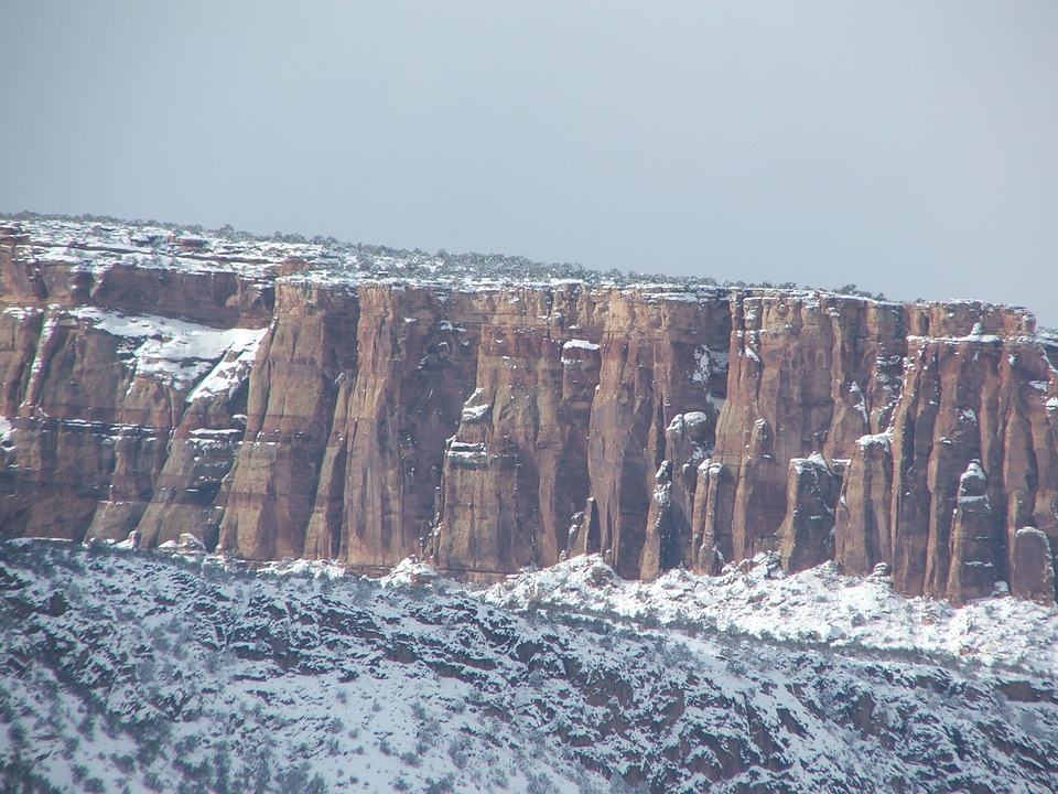 Colorado National Monument, Rocks, Mountains, Cliff
