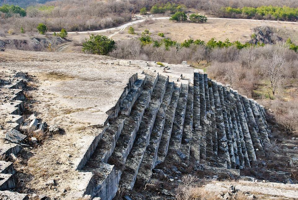 Pyramid, Rocks, Crimea