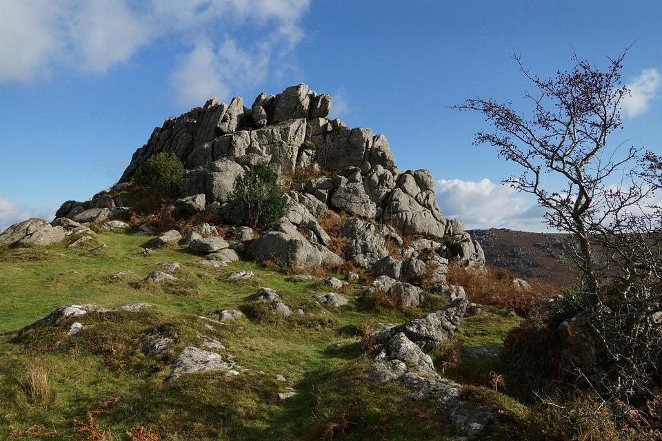 Dartmoor Granite, Granite, Dartmoor, Rocks, Tor