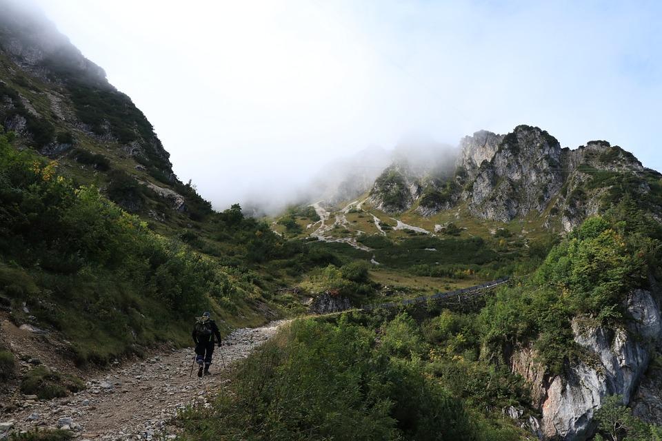 Mountains, Mountain, Rocks, Landscape, Nature, Fog