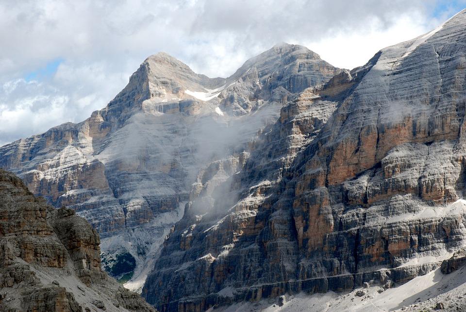 Dolomites, Mountain, Rocks, Landscape, Hiking