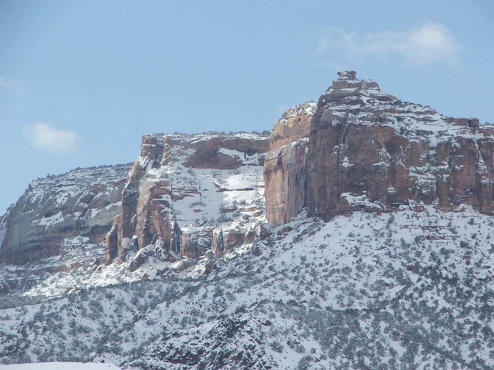Colorado National Monument, Rocks, Mountains, Cliff