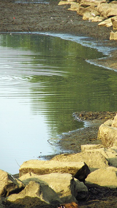 Water, Rocks, Nature