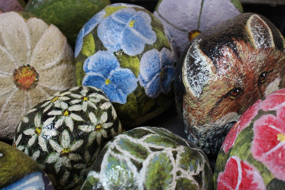 Rocks, Paintings, Sculpture, Artistic, Painting, Design