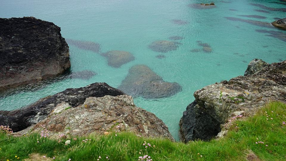 Ocean, Rocks, Sea, Sky, Landscape, Nature, Seaside