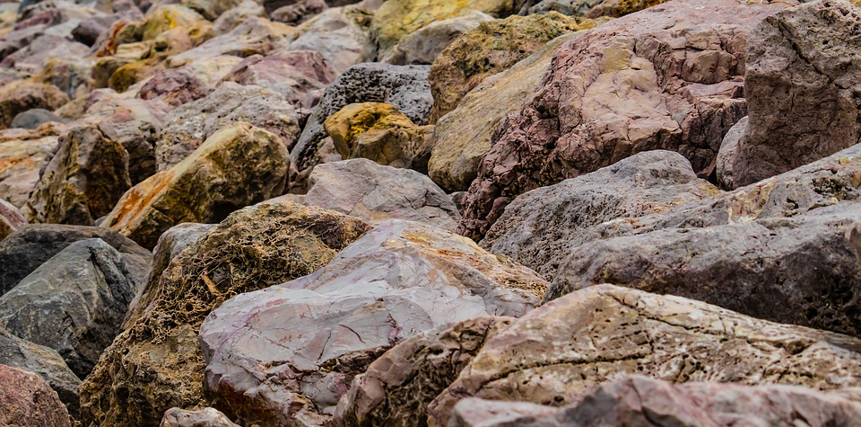 Stones, Rocks, Golden, Colorful, Pebbles, Tranquil, Zen