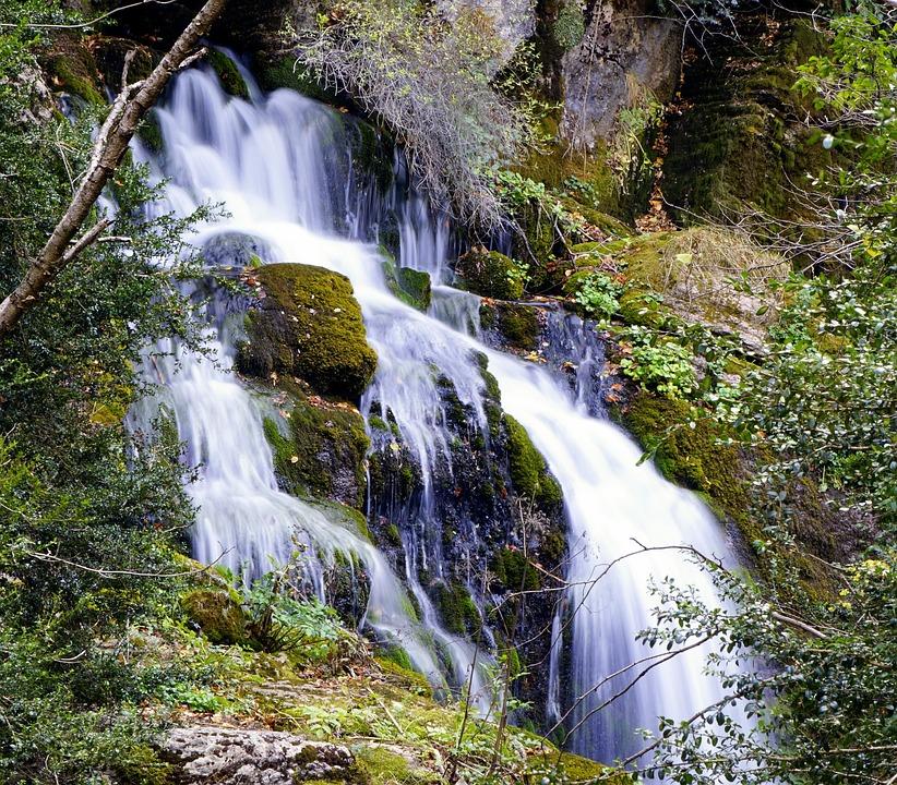 Waterfall, River, Water, Rocks, Stones, Fall, Throat