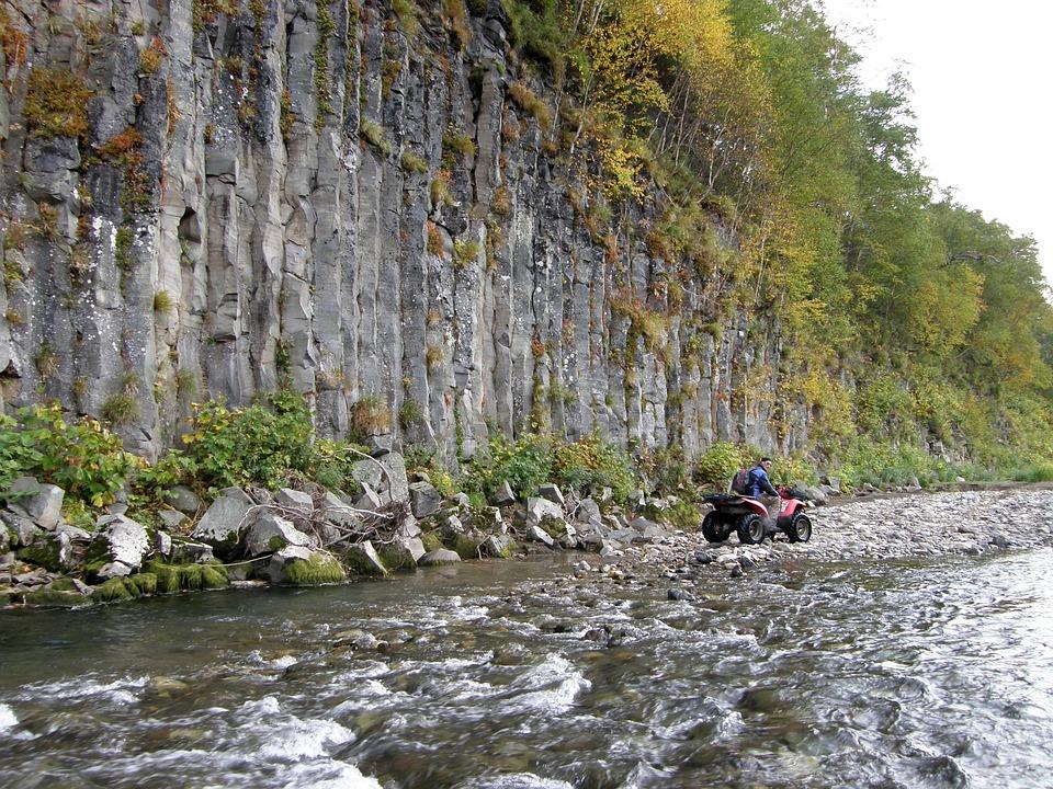 Rocks, River, Stones, For, Wall, Pillars, Nature