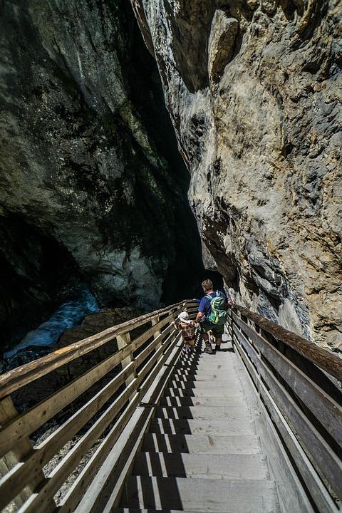 Liechtensteinklamm, Gorge, Austria, Water, Rocks