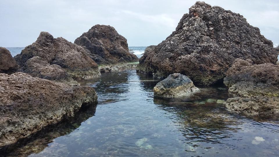 Water, Rocks, Sea