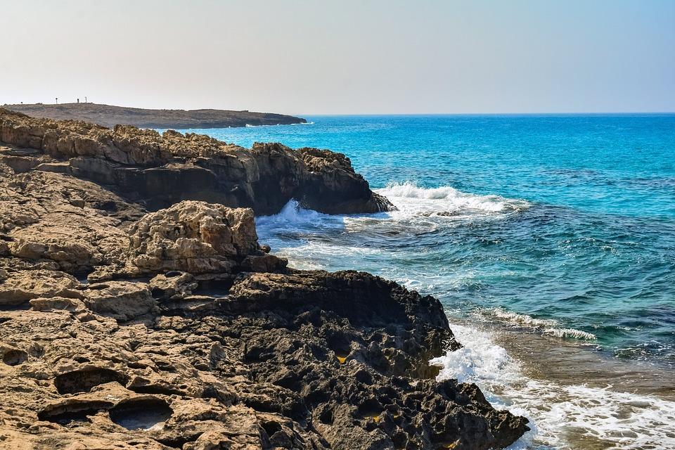 Rock, Rocky Coast, Beach, Sea, Shore, Cliff, Landscape