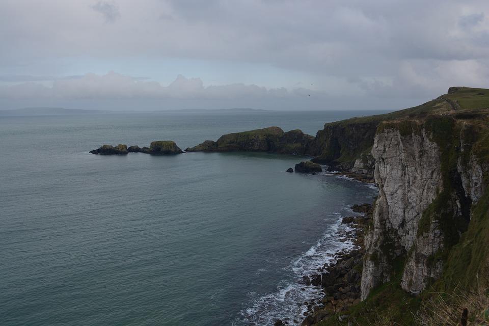 Sea, Rocks, Rocky Coast, Northern Ireland, Nature