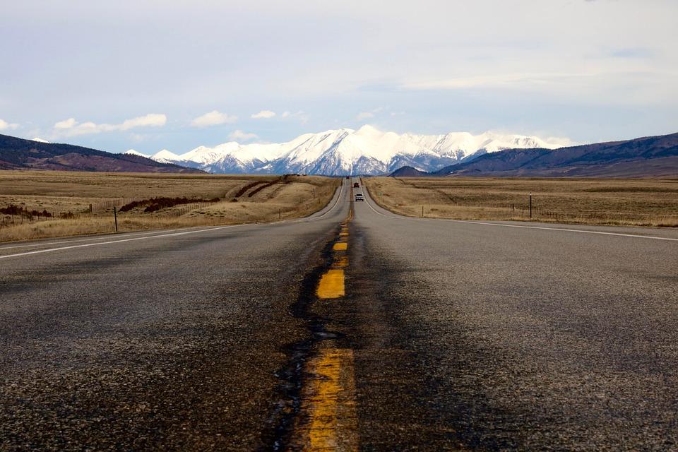Road Trip, Usa, Colorado, Rocky Mountains