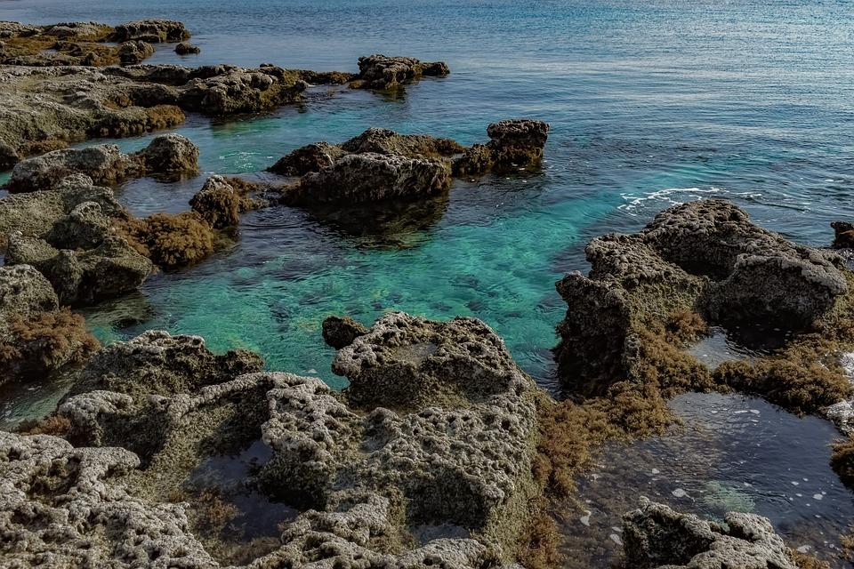 Water, Sea, Seashore, Beach, Rocky, Nature, Scenery