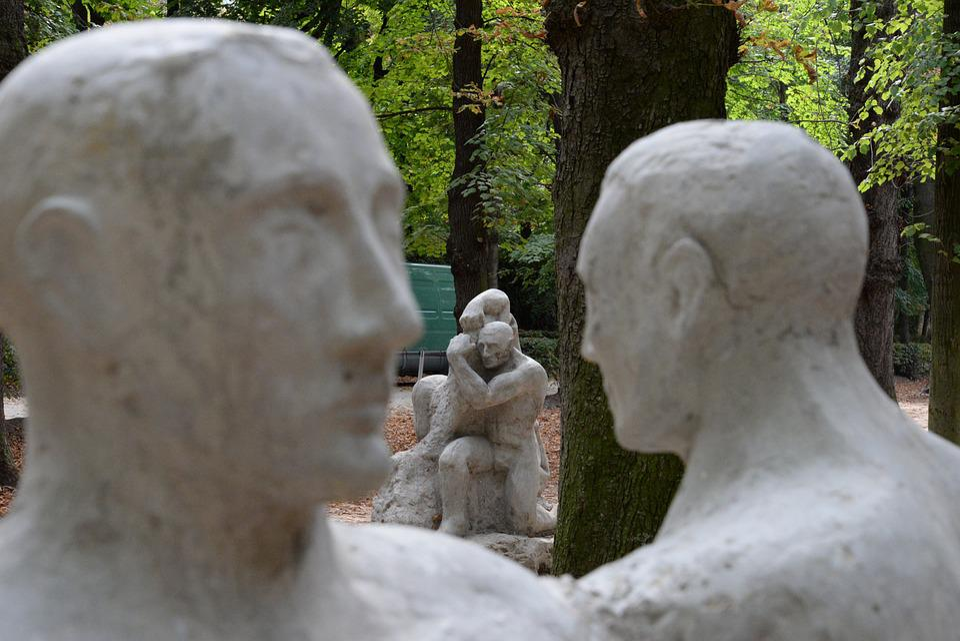 Sculpture, Rodin, Paris, Heads