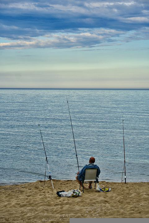 Fisherman, Rods, Fis, Catch, Angler, Leisure, Sport