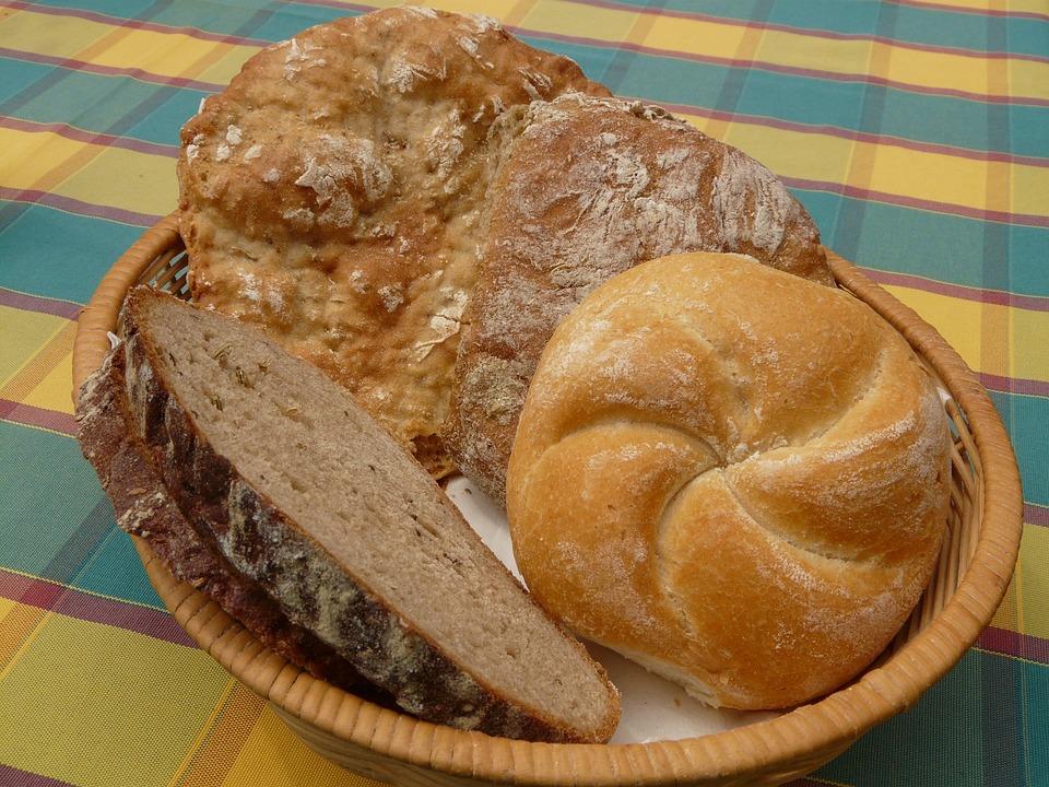 Bread, Breadbasket, Breakfast, Arouse, Roll, Eat, Food