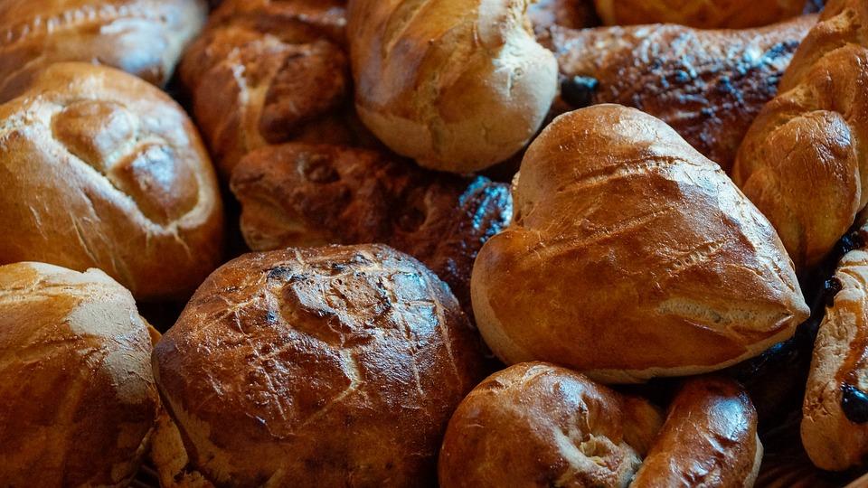 Bread, Roll, Food, Staple, Baked, Brown, Crust, Fiber