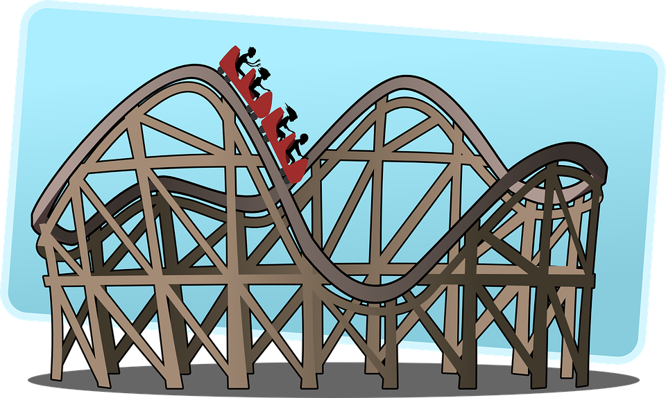 Rollercoaster, Roller Coaster, Big Dipper, Switchback