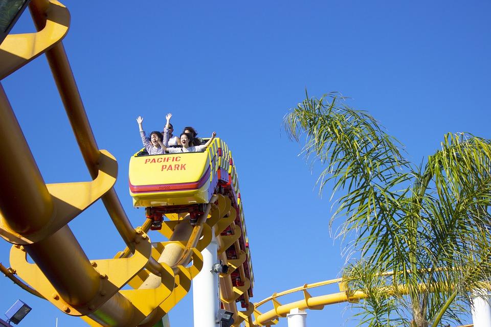 Roller Coaster, Ride, Fun, Entertainment, Rollercoaster