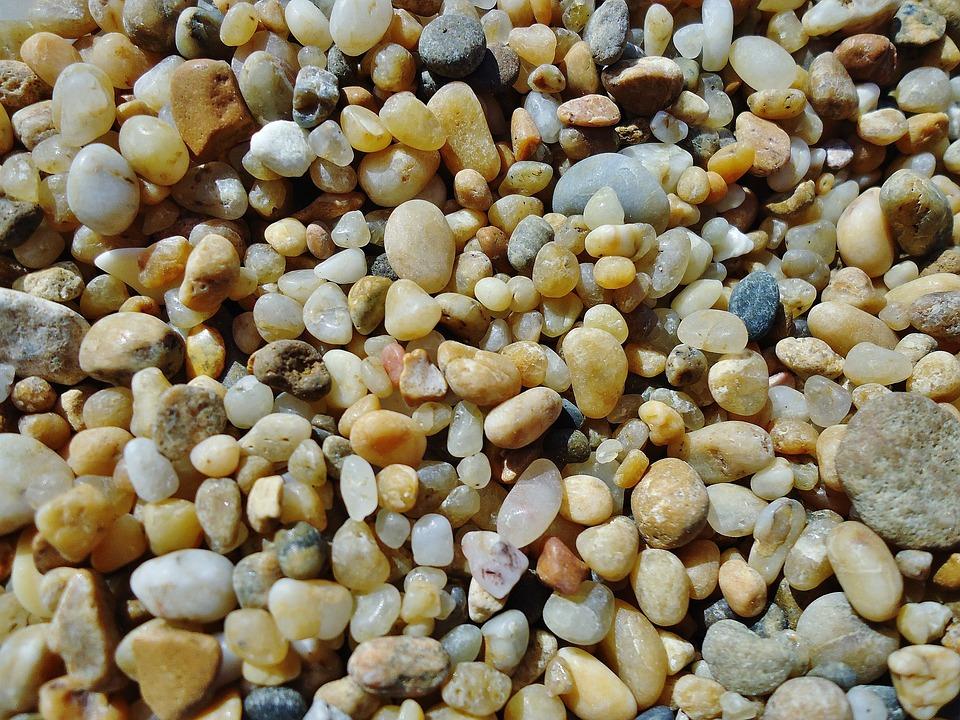 Pebbles Beach Ocean Colors Pebble Roller