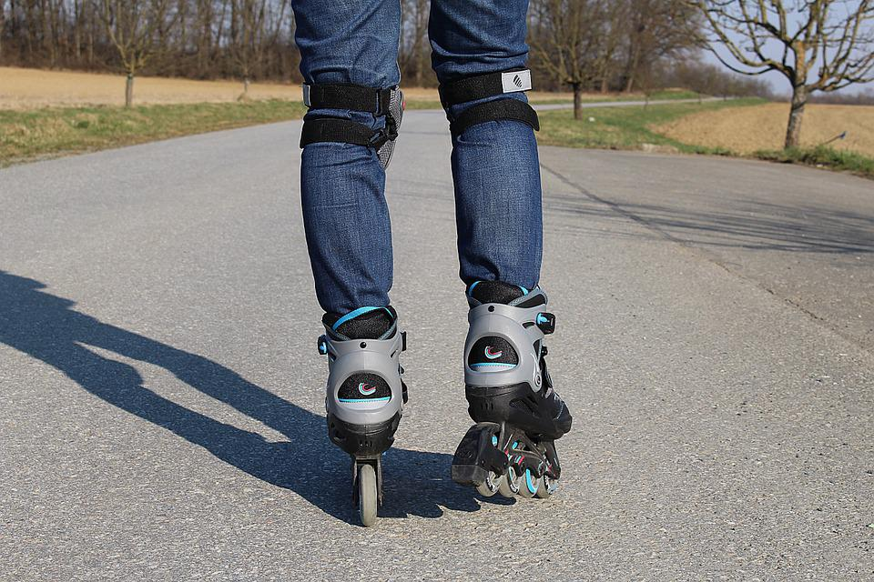 Mono Wheel Roller Skate Shoes