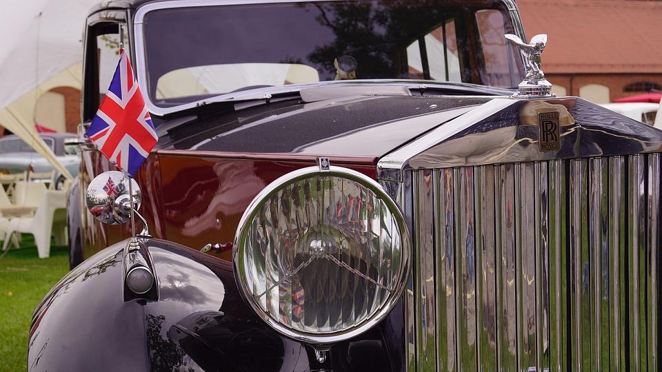 Rolls Royce, Antique, Historically, Car, Retro