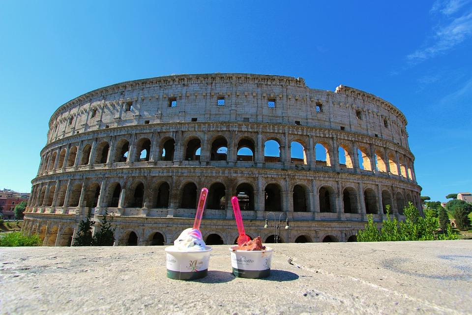 Italia, Roma, Rome, Monument, Italy, Coliseum, Travel