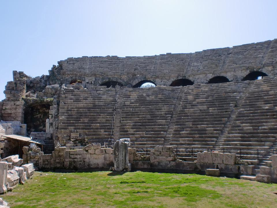 Alanya, Turkey, Roman Theatre, Travel, Turkish Riviera