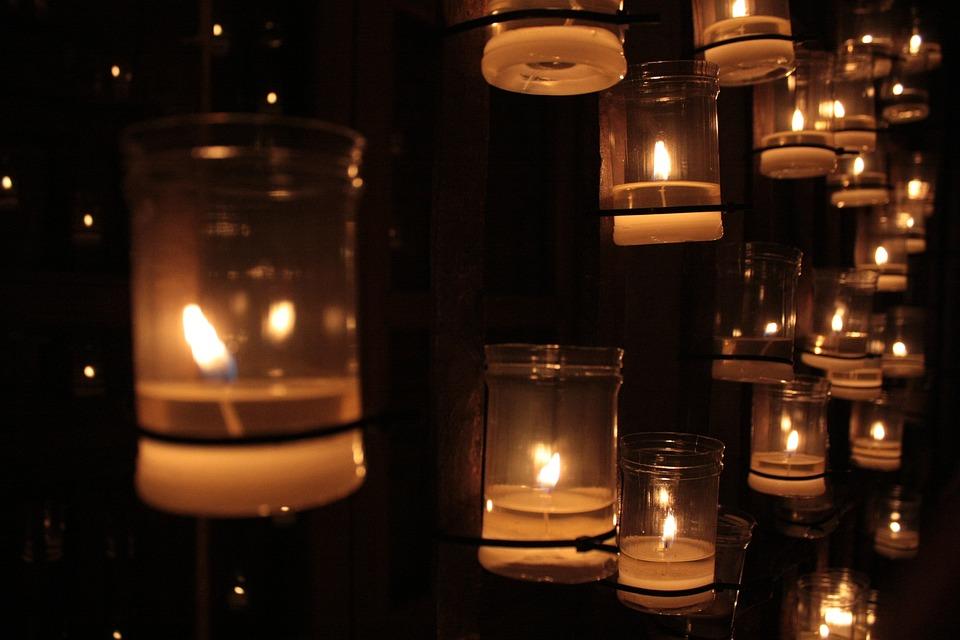 Candles, Night, Romance, Decoration, Fire, Hope