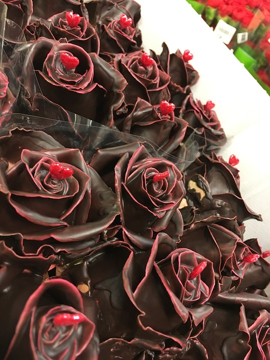 Rose, Choco, Valentine, Flowers, Roses, Romance, Love