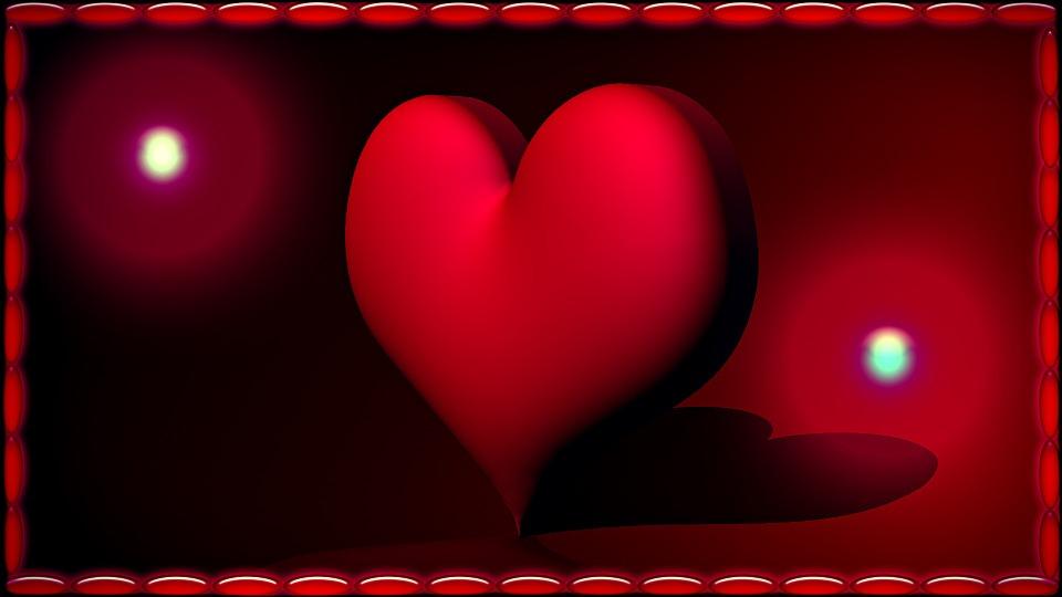 Heart, Red, Love, Valentine's Day, Romance