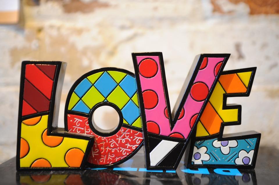 Love, Sculpture, Art, Romance, In Love, Fall In Love
