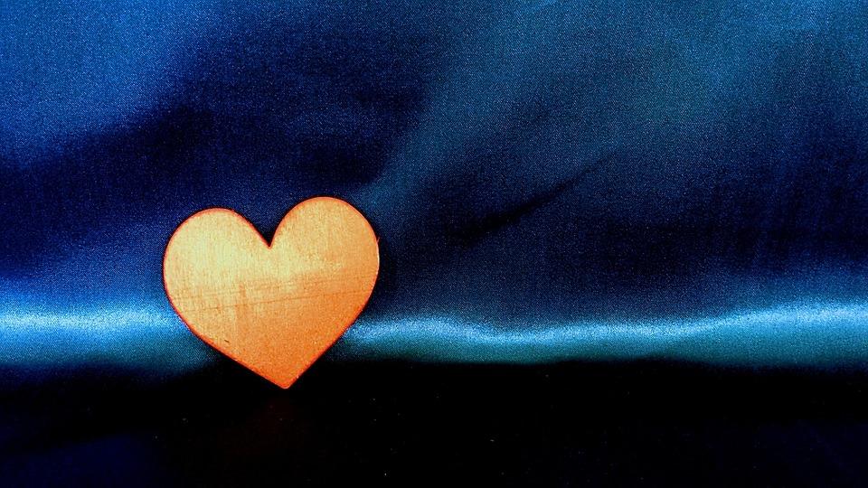 Orange, Heart, Love, Symbol, Romance, Red, Day