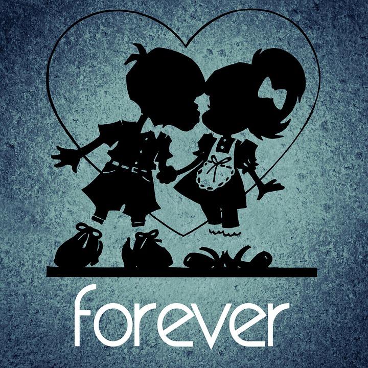 Forever, Love, Pair, Romance, Valentine's Day, Happy