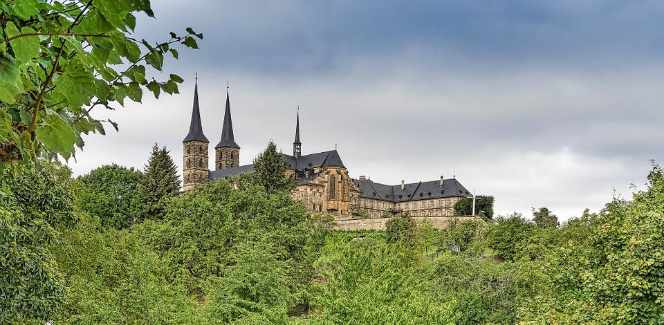 Castle, Middle Ages, Bamberg, Romanesque