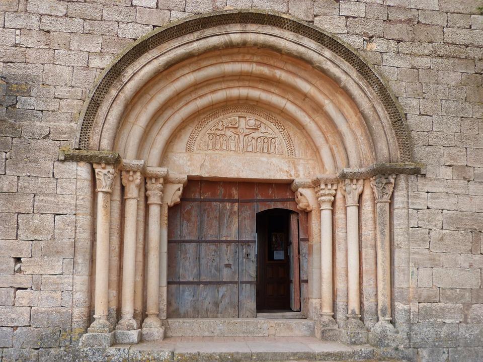 Portalada, Romanesque Church, Romanesque, Pantocrator