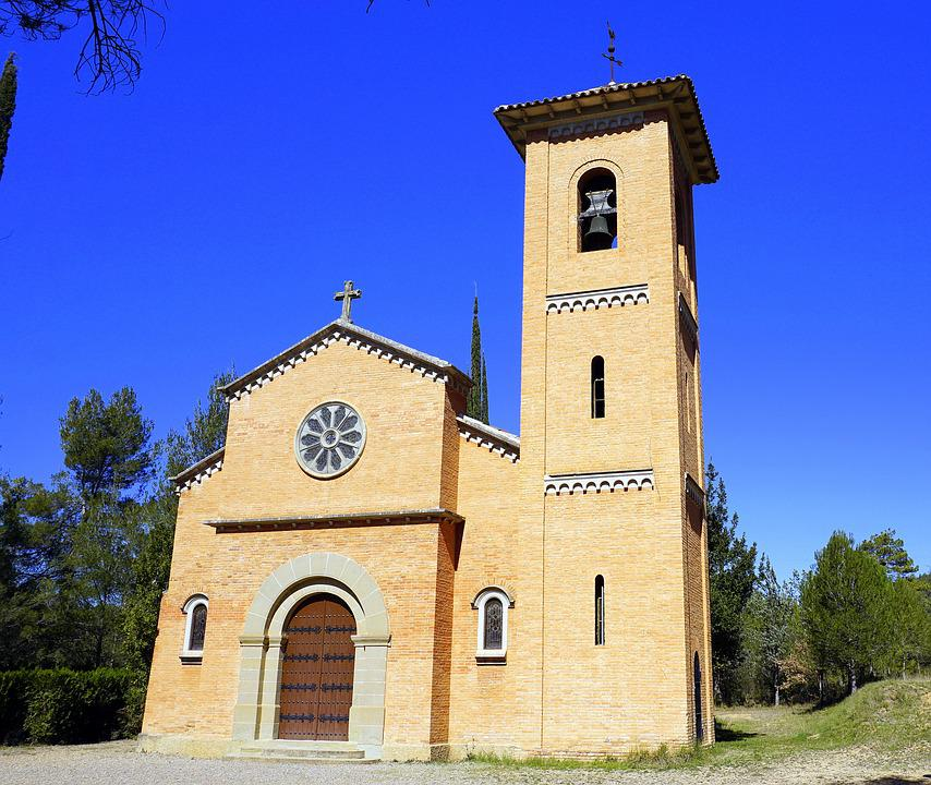 Romanesque Style, Church, Temple, Facade, Architecture