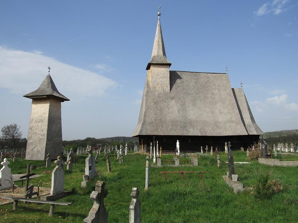 Wooden Church, Crisana, Transylvania, Bihor, Romania
